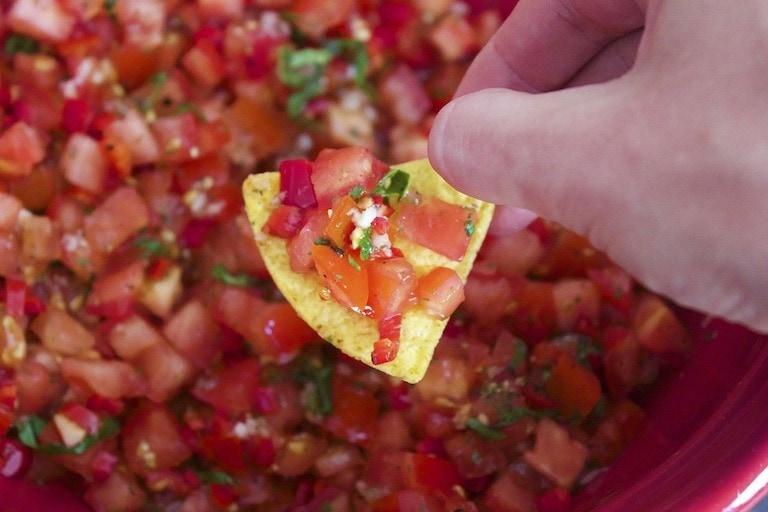 Nutrition Scotland - Fresh Salsa